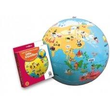 """Pripučiamas gaublys-kamuolys """"Mažieji keliautojai"""", 30 cm"""