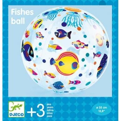 """Pripučiamas kamuolys """"Žuvytės"""" 2"""