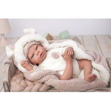 Reborn kūdikėlis su šiltu pleduku, 40 cm