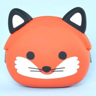 """Silikoninė piniginė """"mimi POCHI Friends Fox"""""""