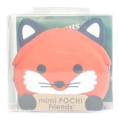 """Silikoninė piniginė """"mimi POCHI Friends Fox"""" 2"""
