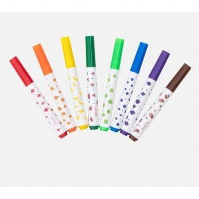 Kvepiantys flomasteriai 8vnt 2