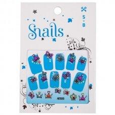 """Snails nagų lipdukai """"Princesės"""""""