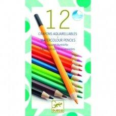 Spalvoti akvareliniai pieštukai