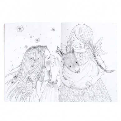 """Spalvinimo knygelė """"Les Rosalies"""" 2"""