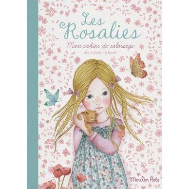 """Spalvinimo knygelė """"Les Rosalies"""""""