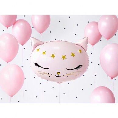 """Folinis balionas """"Rausva katytė"""" 2"""