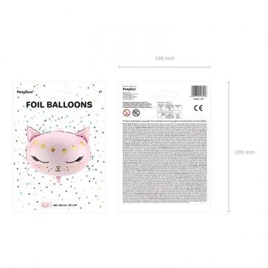 """Folinis balionas """"Rausva katytė"""" 3"""