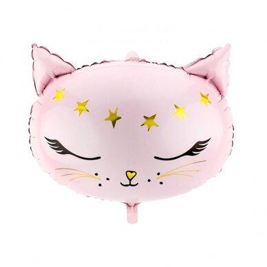 """Folinis balionas """"Rausva katytė"""""""