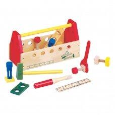 Vaikiškas darbo įrankių rinkinys, 3+