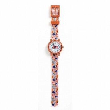 """Vaikiškas laikrodis """"Gėlės"""""""
