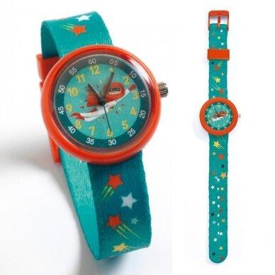 """Vaikiškas laikrodis """"Superherojus"""" 2"""