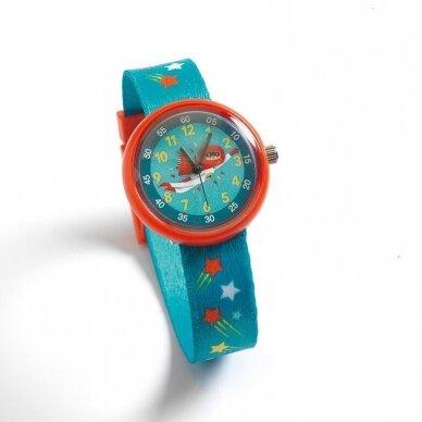 """Vaikiškas laikrodis """"Superherojus"""""""