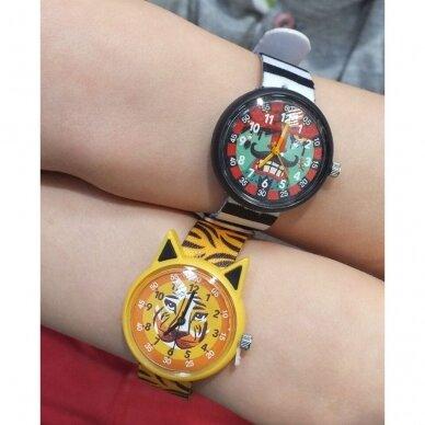 """Vaikiškas laikrodis """"Tigriukas"""" 3"""