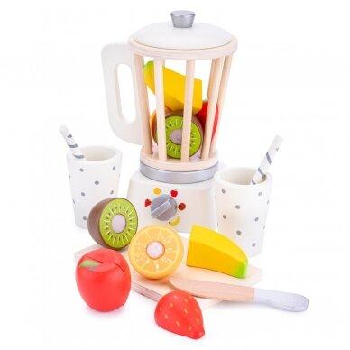 Medinė kokteilinė su pjaustomais vaisias 3