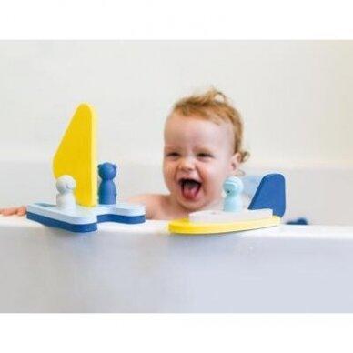 """Vonios žaislas - dėlionė """"Laiveliai"""" 3"""