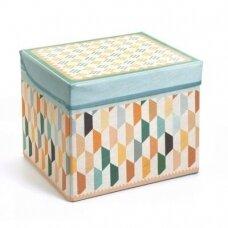 """Žaislų dėžė - pufas """"Oriental"""""""