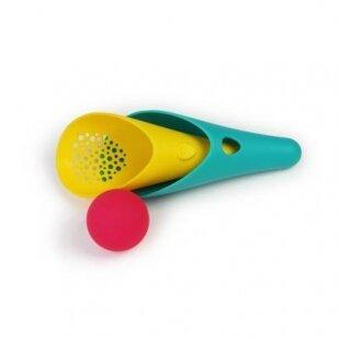 """Žaislas """"Cuppi"""" - kastuvėlis, sietelis ir kamuoliukas"""