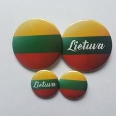 Ženkliukas Lietuvos vėliava, 25mm